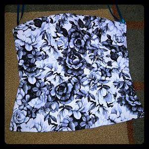 Flowered Corset